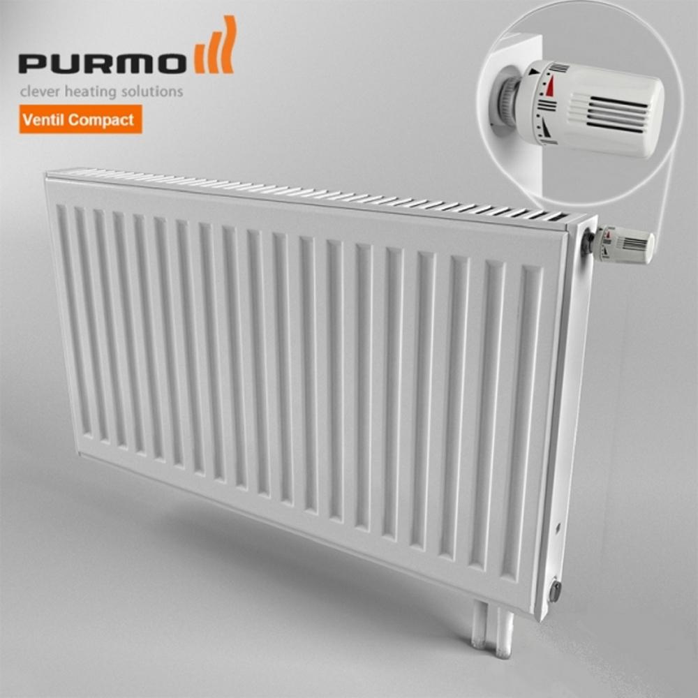 Стальные радиаторы PURMO Ventil Compact, цена 1 298,14 грн., купить ...