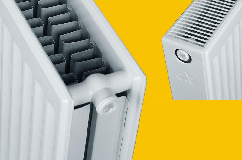 стальные радиаторы отопления с нижним подключением