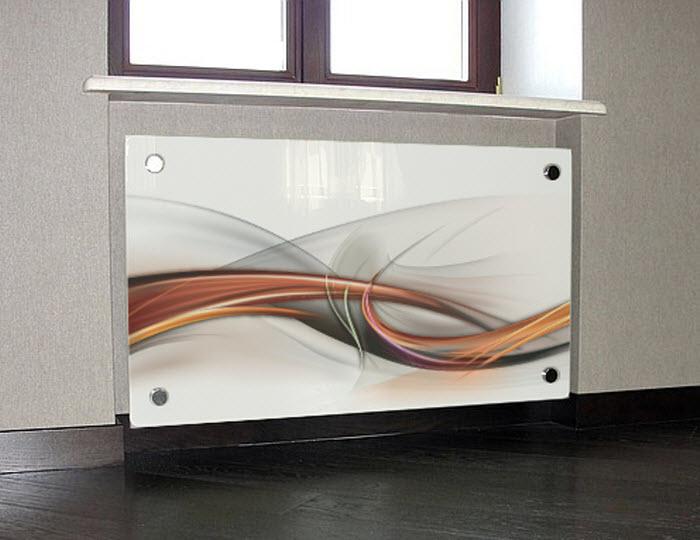 экраны на батарею отопления стеклянные цены