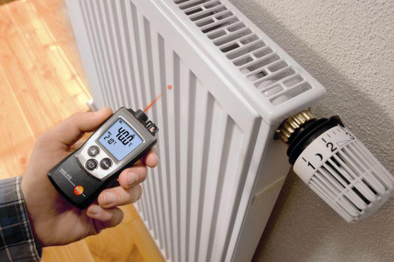 Температура в системе отопления