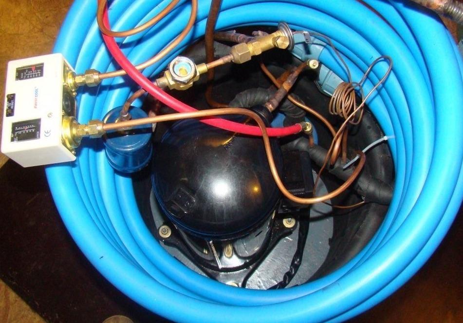 Как сделать тепловой насос типа вода-вода: пошаговая схема сборки ...