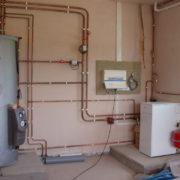 Как установить водяное отопление в частном доме своими руками по схеме