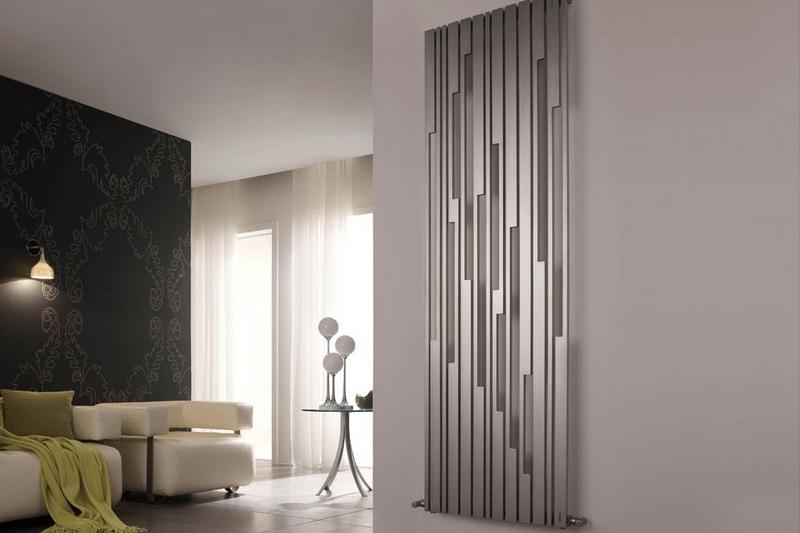 Высокие радиаторы отопления ( 28 фото): узкие батареи на стену в ...