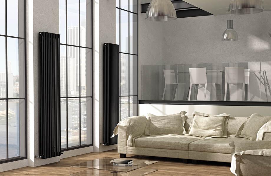 Высокие радиаторы отопления цена, купить вертикальные батареи в ...