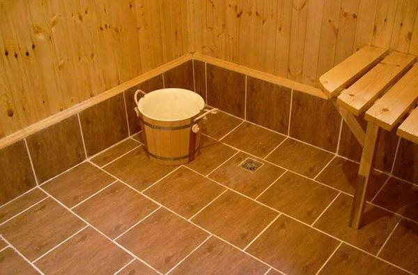 Керамическая плитка для бани – наиболее популярный вариант