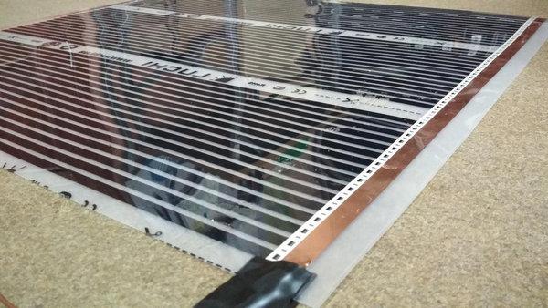 Особенно удобные пленочные теплые полы под плитку – и монтаж, и использование очень просты