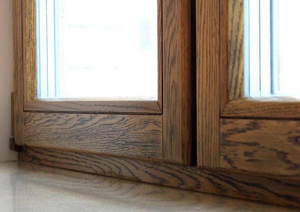 Деревянные оконные рамы покупают реже всего – стоимость их довольно высока
