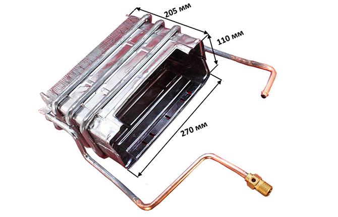 Стальной теплообменник для атмосферной колонки