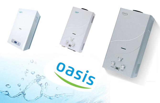 Газовая колонка Оазис (Oasis)